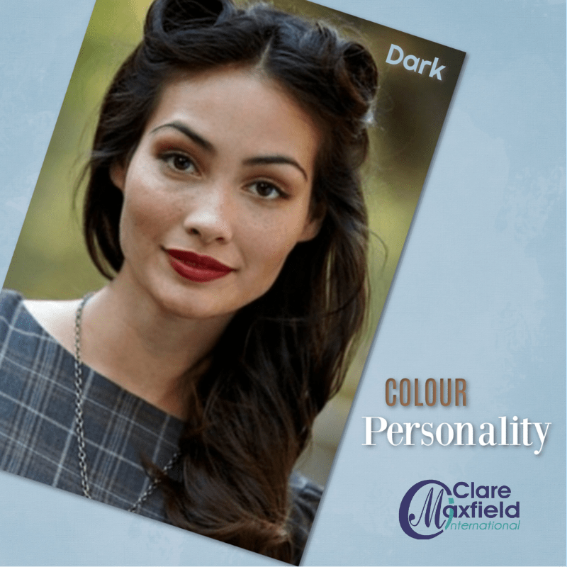 The Personality Of Cool Dark Colouring