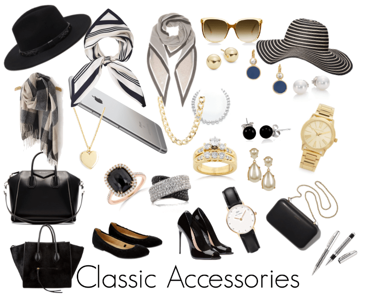 How does a Classic Woman Accessorise