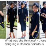Victoria Beckham, put your hands in your sleeves