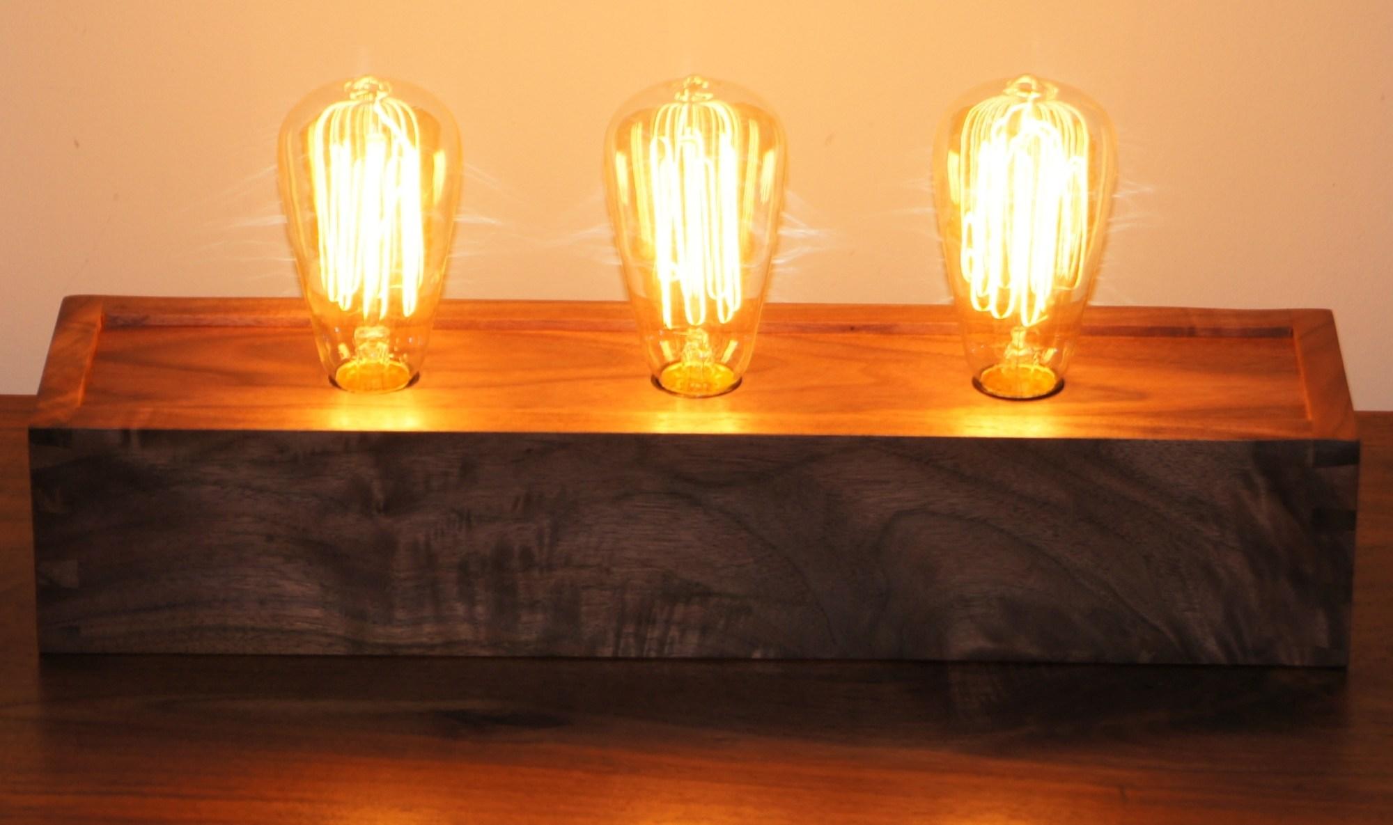 hight resolution of edison table lamp