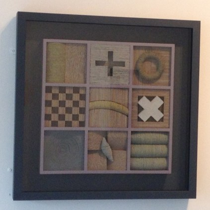 'Studio Grid', Paper Pulp, Card and MDF, £500.