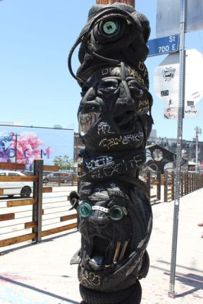 Street Art Totem