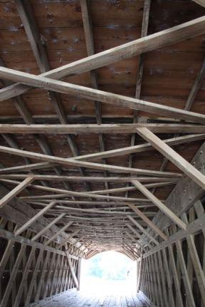 Covered Bridge ceiling