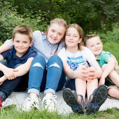 An Extended Family Photo Shoot on Wandsworth Common