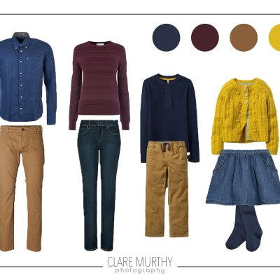 What to Wear for an Autumn Family Photo Shoot