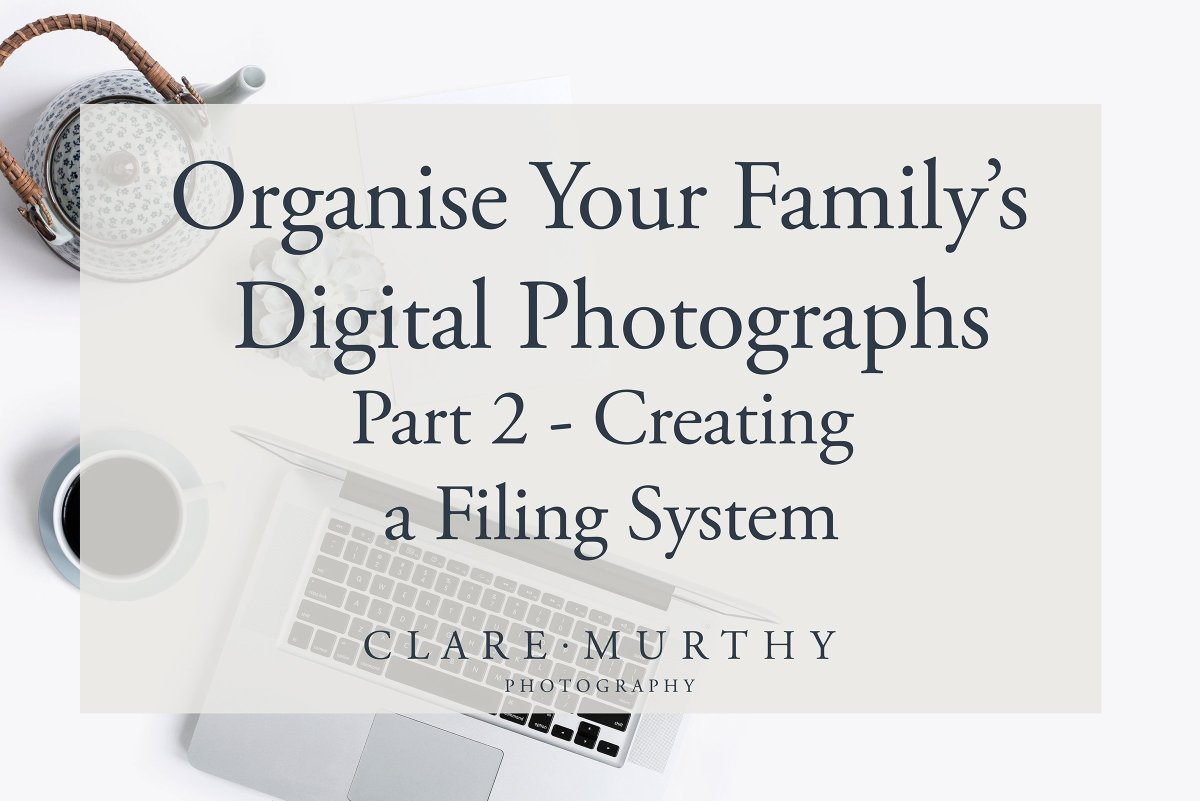 Filing System For Digital Photos