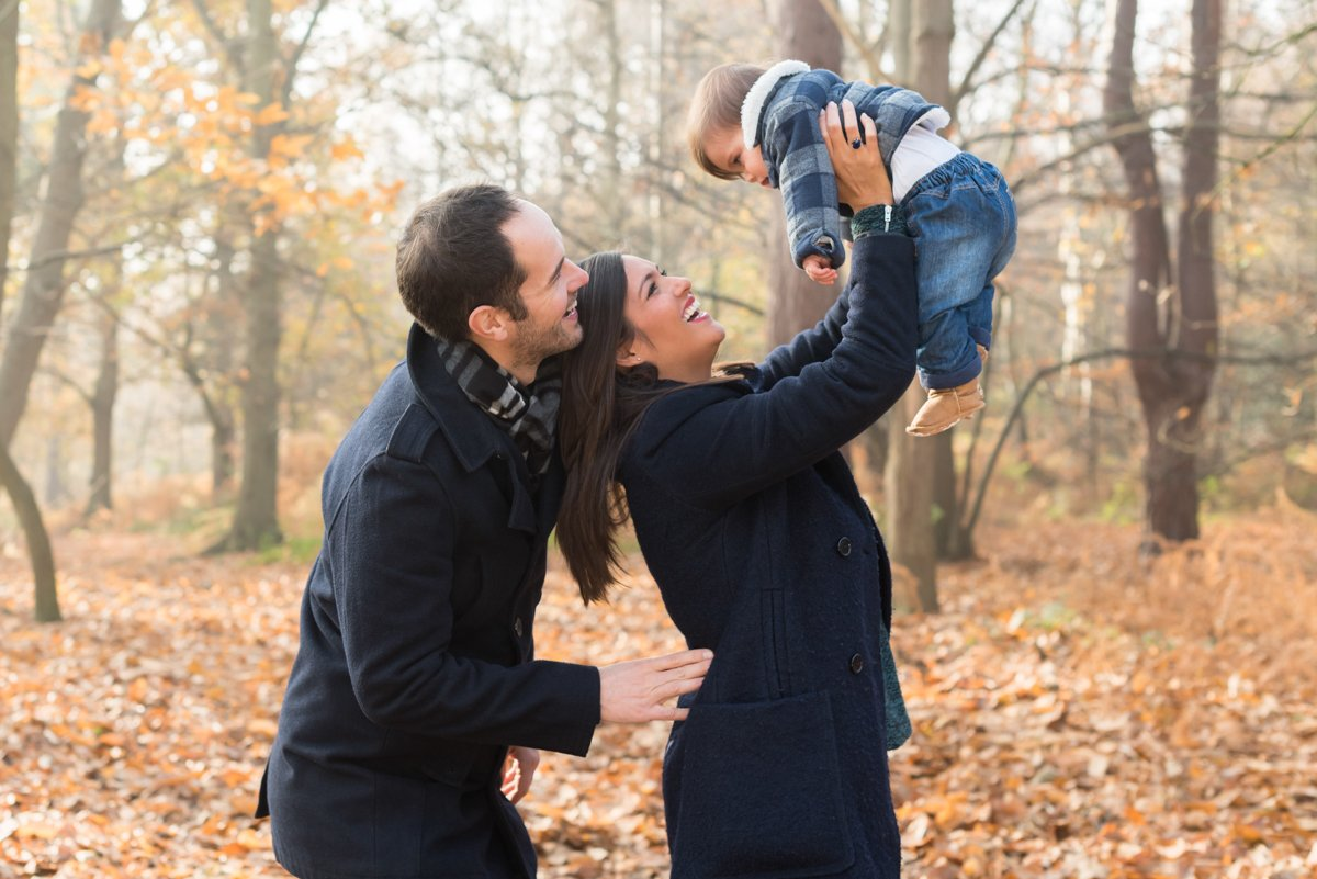 best time of year for outdoor family pictures in london and surrey