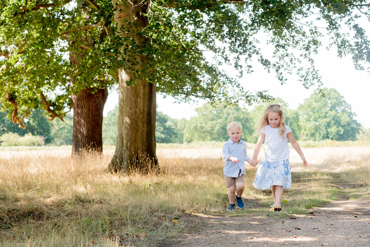 Bushy Park Family Photography, Surrey