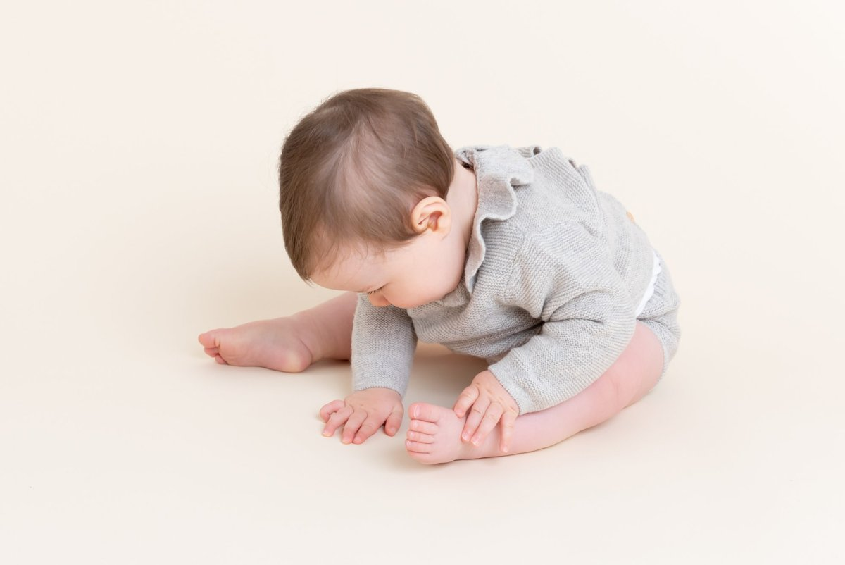 Surrey Baby Photography in a Studio