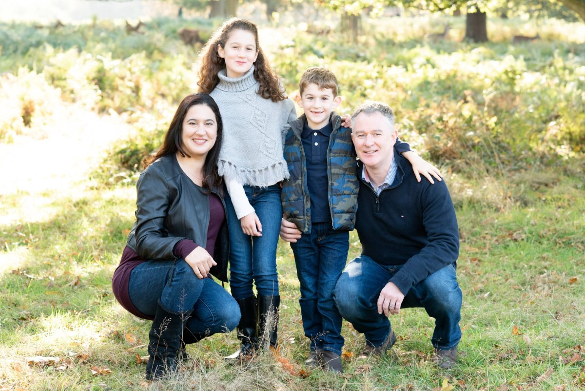 Outdoor family photography in Richmond Park