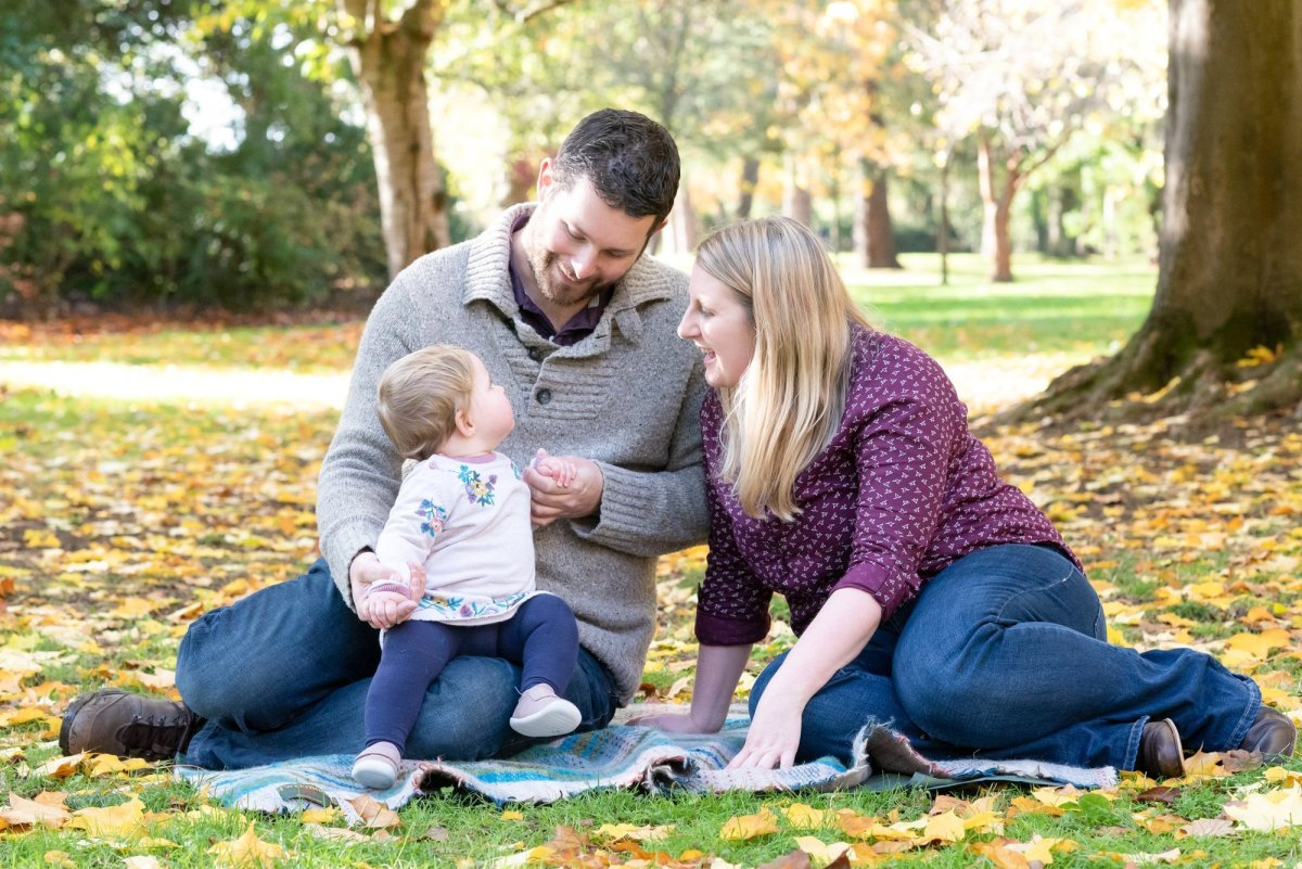 outdoor baby photography south west london