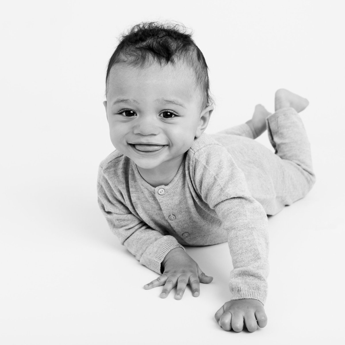 Natural baby portraits SW London