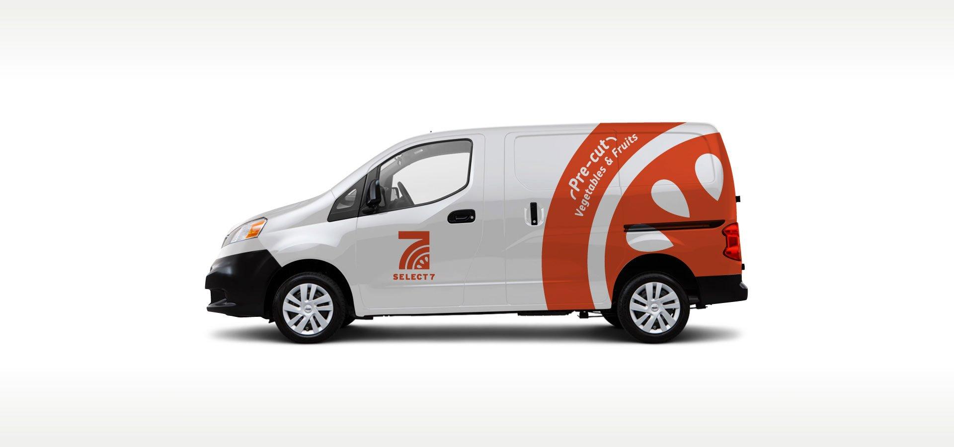 Select7 car graphics