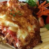 Chicken Parmigiana at the Bayside Inn