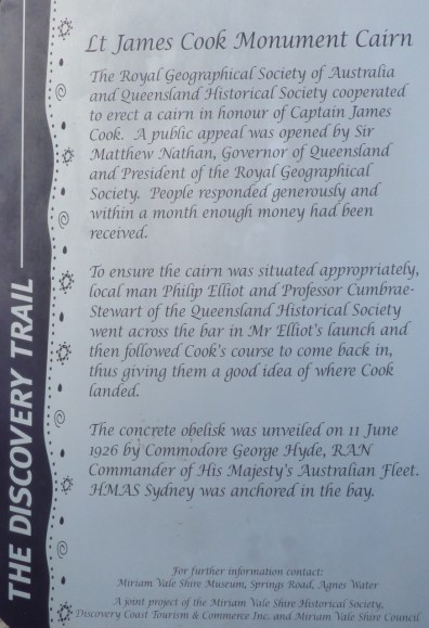 Information at the cairn