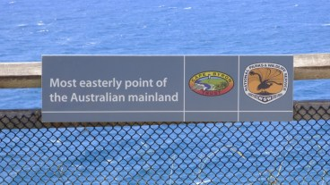 Easterly point sign