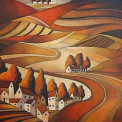John Botham oil, Art and Wine Gallery, Clarens