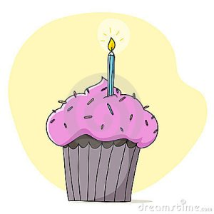 pink-cupcake-candle-illustration-19566495