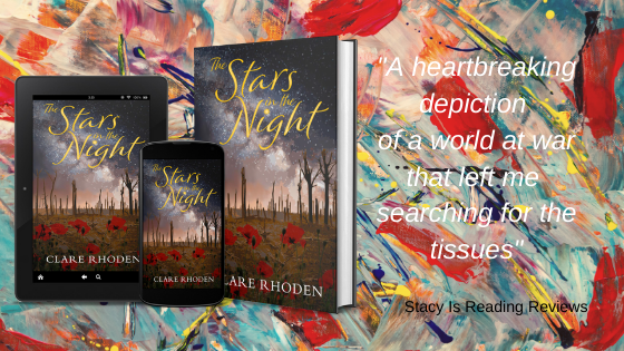 Review quote for The Stars in the Night: heartbreaking