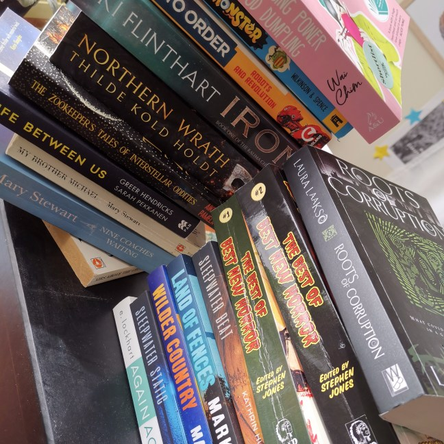 Pile of books I have read this year