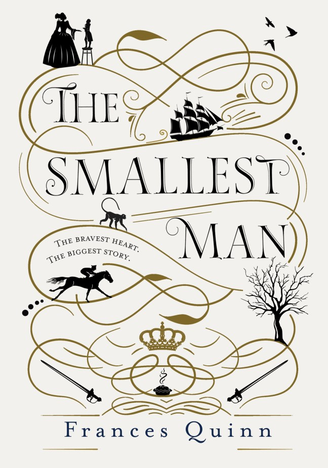 Cover image The Smallest man by Frances Quinn