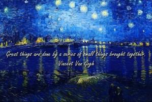 Inspiration by Van Gogh