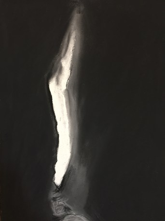 Spar cave, Isle of Skye. 2015. Charcoal on paper