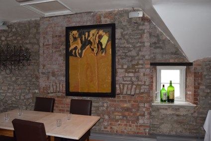 Upstairs dining area. 2016