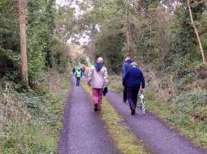 Clare Ramblers, Ballinruan, Mid Clare Way
