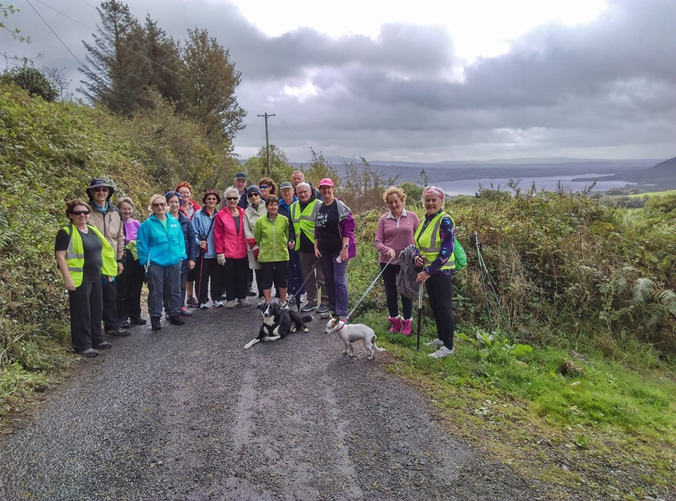 Clare Ramblers, Ogonnelloe, East Clare Way