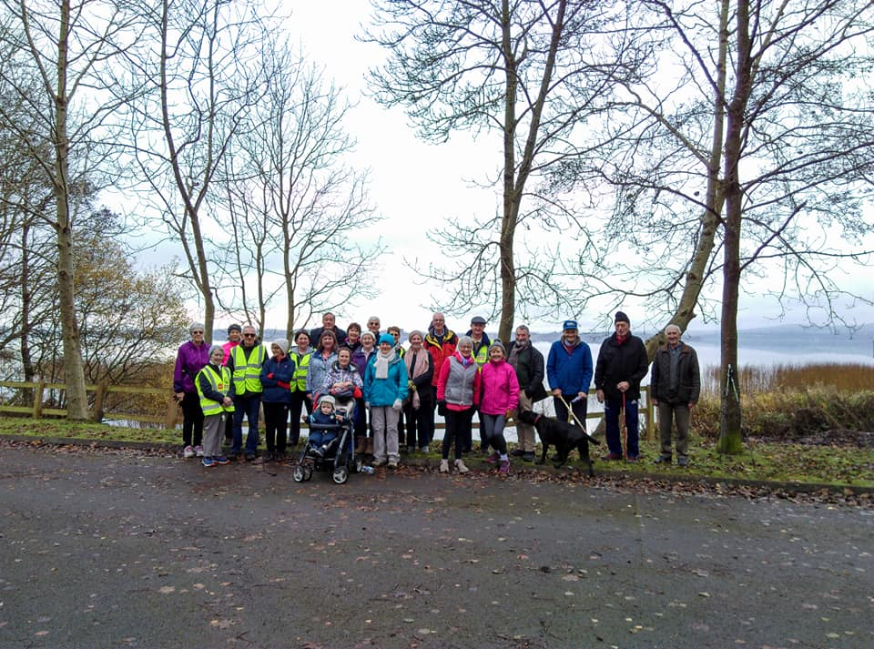 Clare Ramblers, Whitegate, East Clare Way