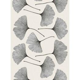 Ginkgo Sateen Fabric by Marimeko