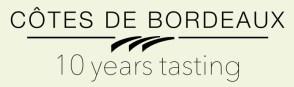 Cotes de Bordeaux 10 year tasting selection