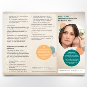 inside tri-fold brochure design RNAO