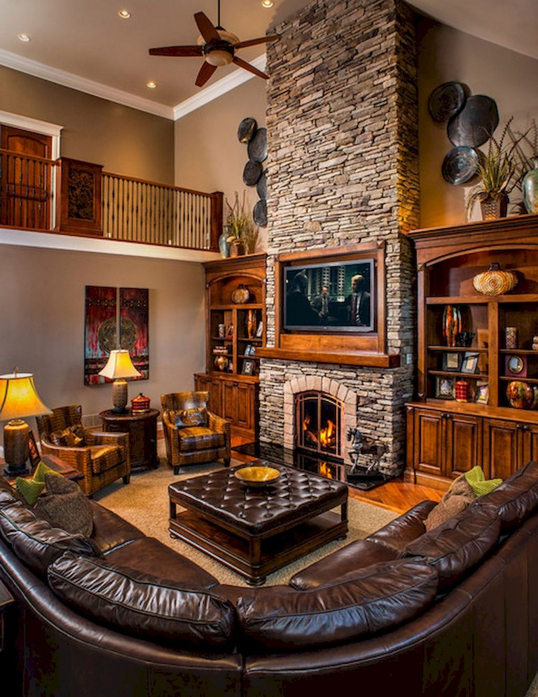 Your living room is one of the most important rooms in your home. 52+ Awesome Rural Living Room Decoration Ideas - Page 2 of 54