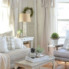 Modern Farmhouse Living Room Curtains Grey With Brown Leather Sofa 45 Comfy Ideas So You Wanna Get That Look Well Re In The Right Spot My Friends I Have Created A Complete Style Guide For Those Of Are
