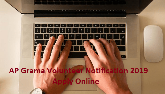 AP Grama Volunteer Notification 2019 Apply Online