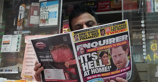 Report: National Enquirer Sold to Hudson News CEO for $100 Million