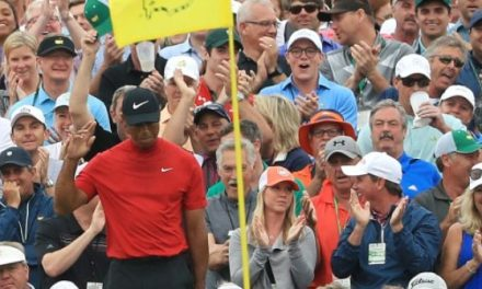 Tiger Woods Wins the Masters for First Time in 14 Years