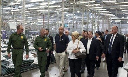 Donald Trump: 'Cages' for Child Migrants 'Were Built by President Obama's Administration'