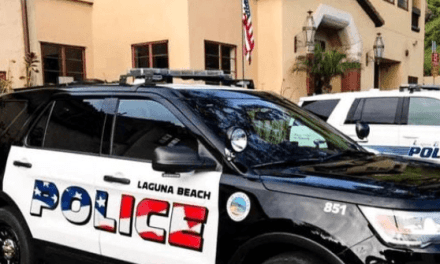 Patriotic Red, White, and Blue Police Car Lettering Sparks Backlash in California