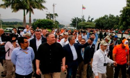 Pompeo Spends Palm Sunday with Venezuelan Refugees in Colombia