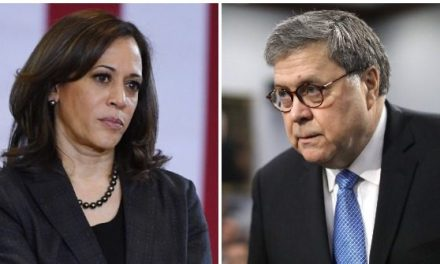 Kamala Harris Accuses A.G. Barr of Acting as President's Defense Attorney