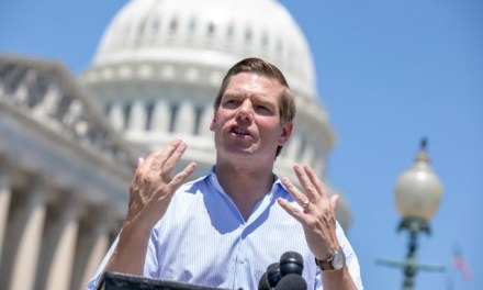 Eric Swalwell Pushes Jail Time for Americans Who Won't Hand over 'Assault Weapons'
