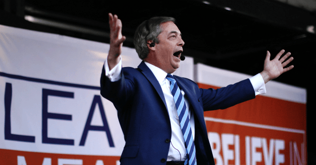 Farage's Brexit Party Pulls of Ahead of Tories in General Election Polls
