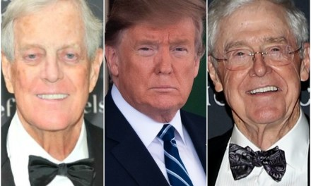 Billionaire Koch Brothers Rail Against Trump: U.S. Must Eliminate All Tariffs