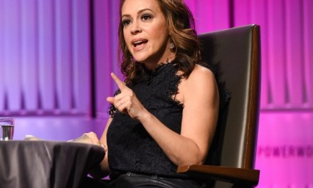 Alyssa Milano Calls for Online Harassment of Alabama Senator over Abortion Law