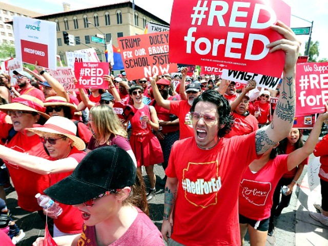#RedforEd Pushes for Higher Property Taxes | Breitbart