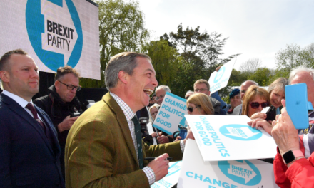 EU Election Poll: Brexit Party Beating Labour and Tories COMBINED