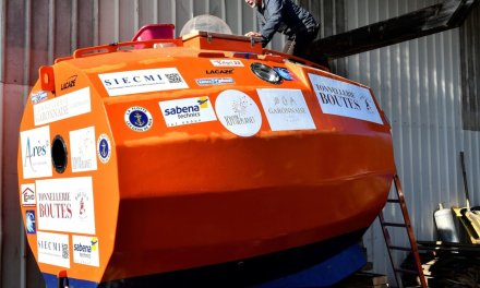 French retiree completes voyage across Atlantic Ocean in a barrel